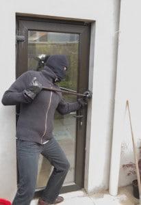 Inbreker in Roosendaal